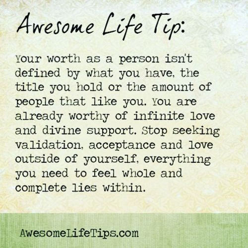 Awesome Life Tip!