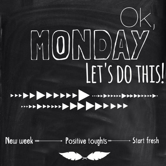 Moving Forward Monday!