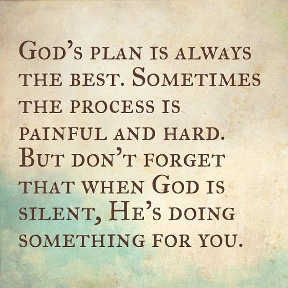 God is Always Working