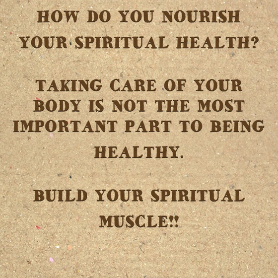 Build Your Spirtual Muscle!!