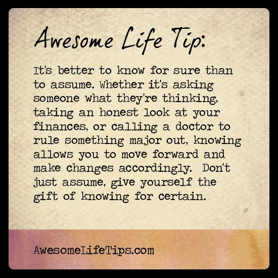 Awesome Tip!!