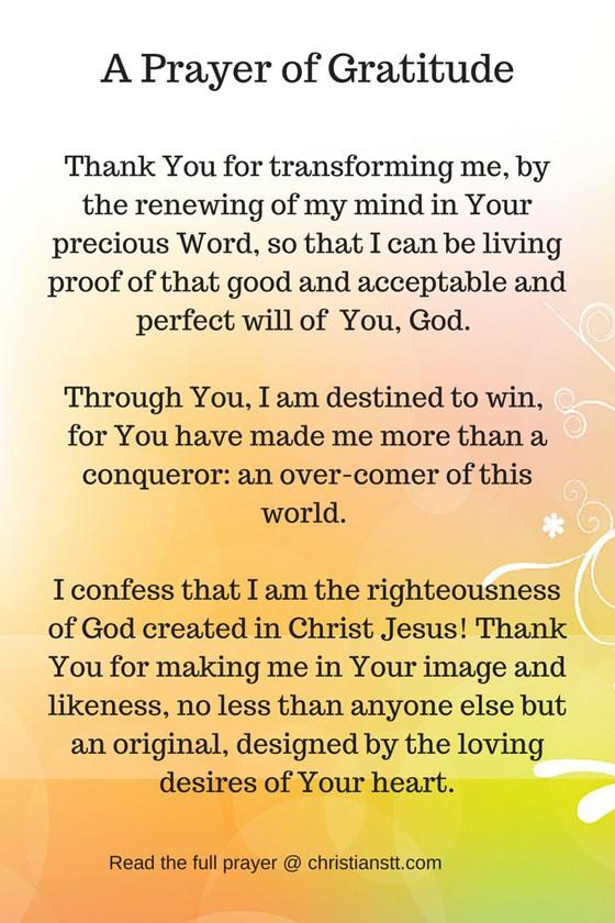 Be Thankful!!!
