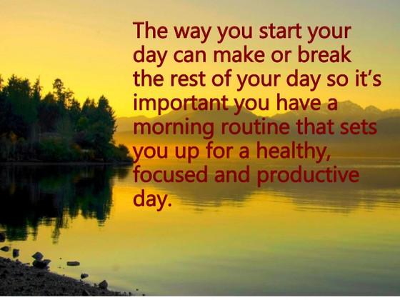 Start Postive