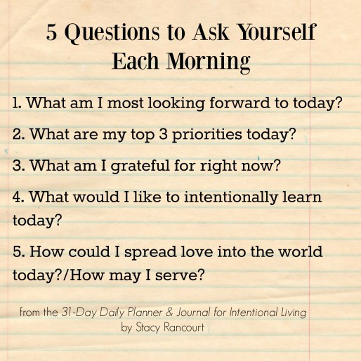 Self-Care Questions
