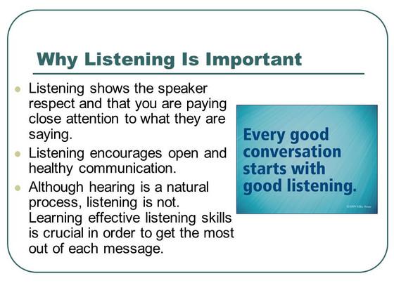 Listening vs Hearing