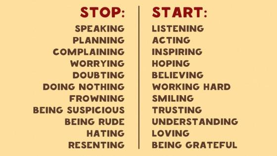 Positive Changes!!