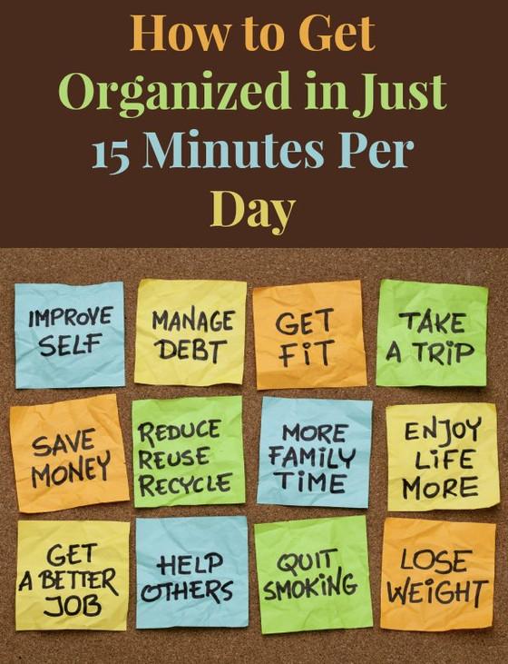 Get Organized!!