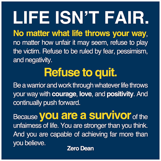 Keep Fighting!