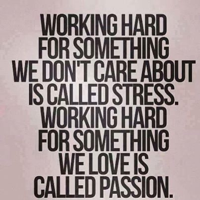 Are you working your passion?