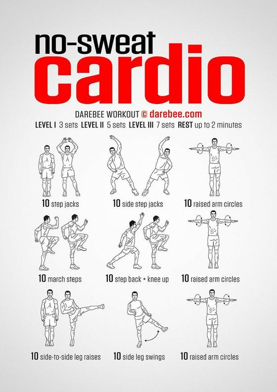 No-Sweat Cardio