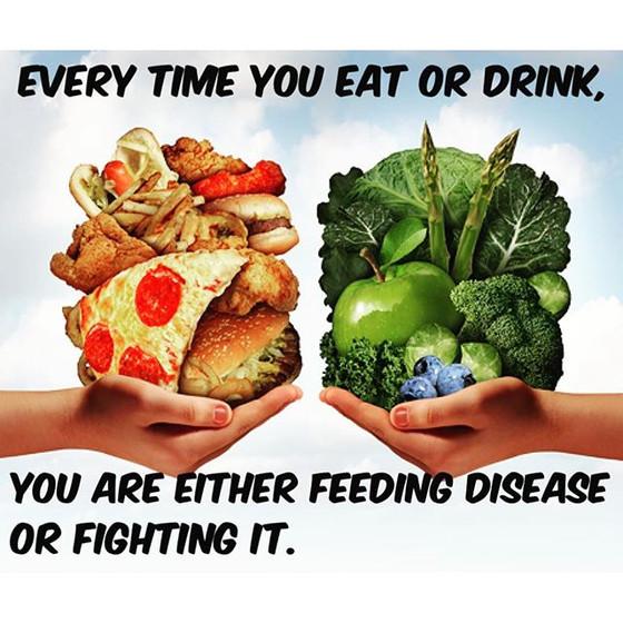Food Heals The Body!!