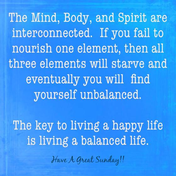 Living Balanced