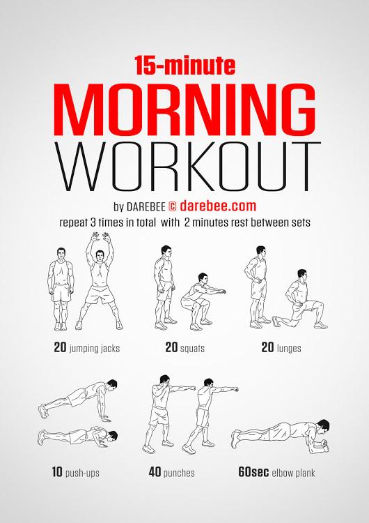 Morning Workout!