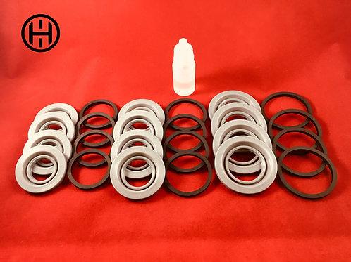28/32/38mm Stoptech/Brembo Front Brake Caliper Rebuild Kits Porsche 996/997 GT3