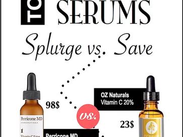 Top 10 Vitamin C Serums: Splurge Vs. Save