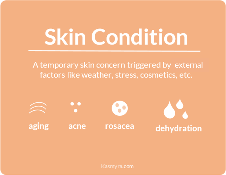 skin condition dry or oily dehydrated skin