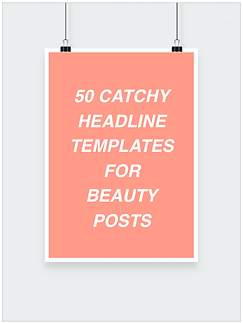 50 catchy headline templates for beauty posts