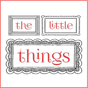 THE LITTLE THINGS: featuring artwork to fit the small spots