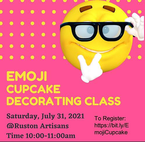 Emoji Cupcake Decorating