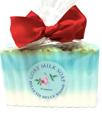 Sparkling Snowflake Goat Milk Soap