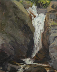 Chasm Falls, RMNP