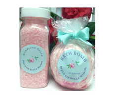 Pink Sparkles Bath