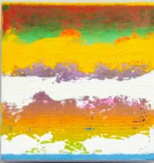 Sundown Harmony Abstract