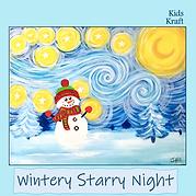 Wintery Starry Night