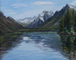 View up Lake MacDonald, GNP