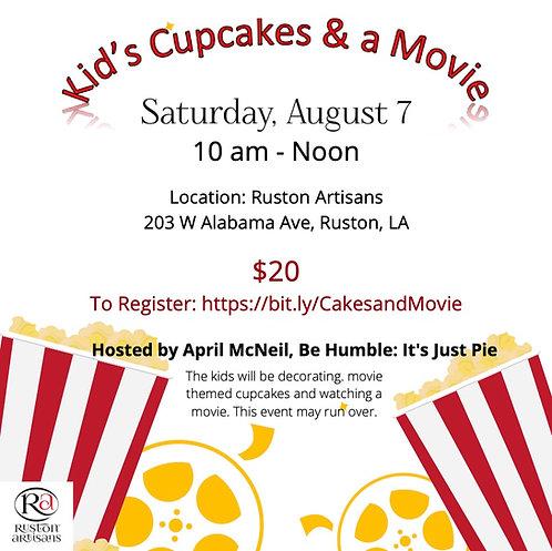 Kid's Cupcakes & A Movie