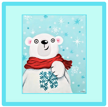 Polar Bear Blake & his Snowflake