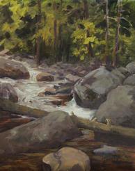 River at Tuxedo Park, RMNP