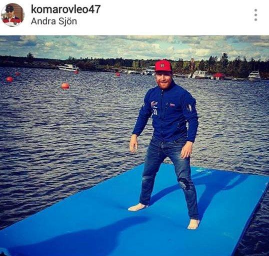 Kelluva matto ja Leo Komarov