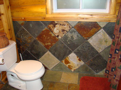 Trappers Cabin Bathroom