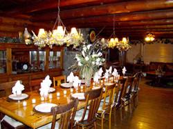 Log Dinning Table