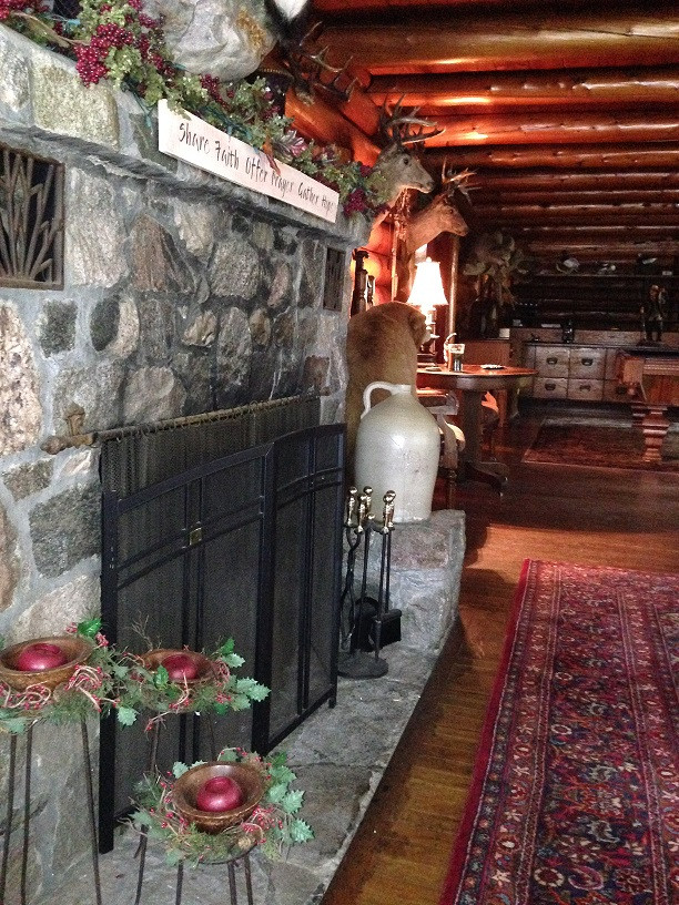 What's up with this Funky Fireplace?