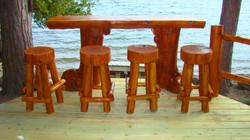 Chalet Log Bar