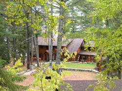 Early Fall at the Lodge