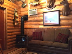 Trappers Cabin Living Room