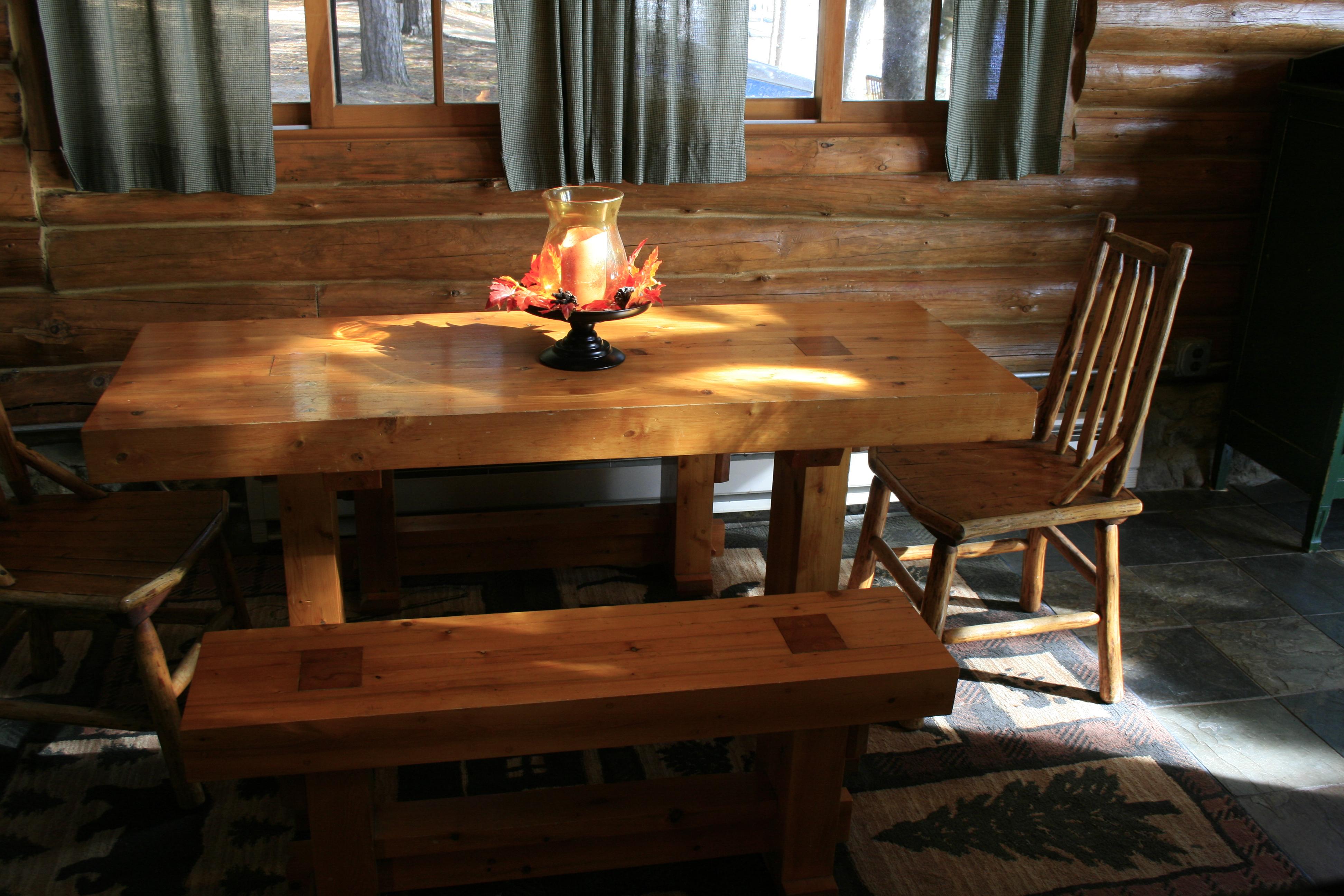 Chalet Kitchen Table