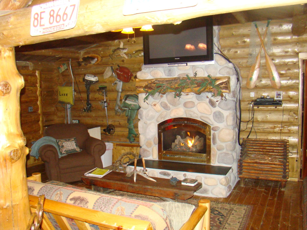Anglers Fireplace