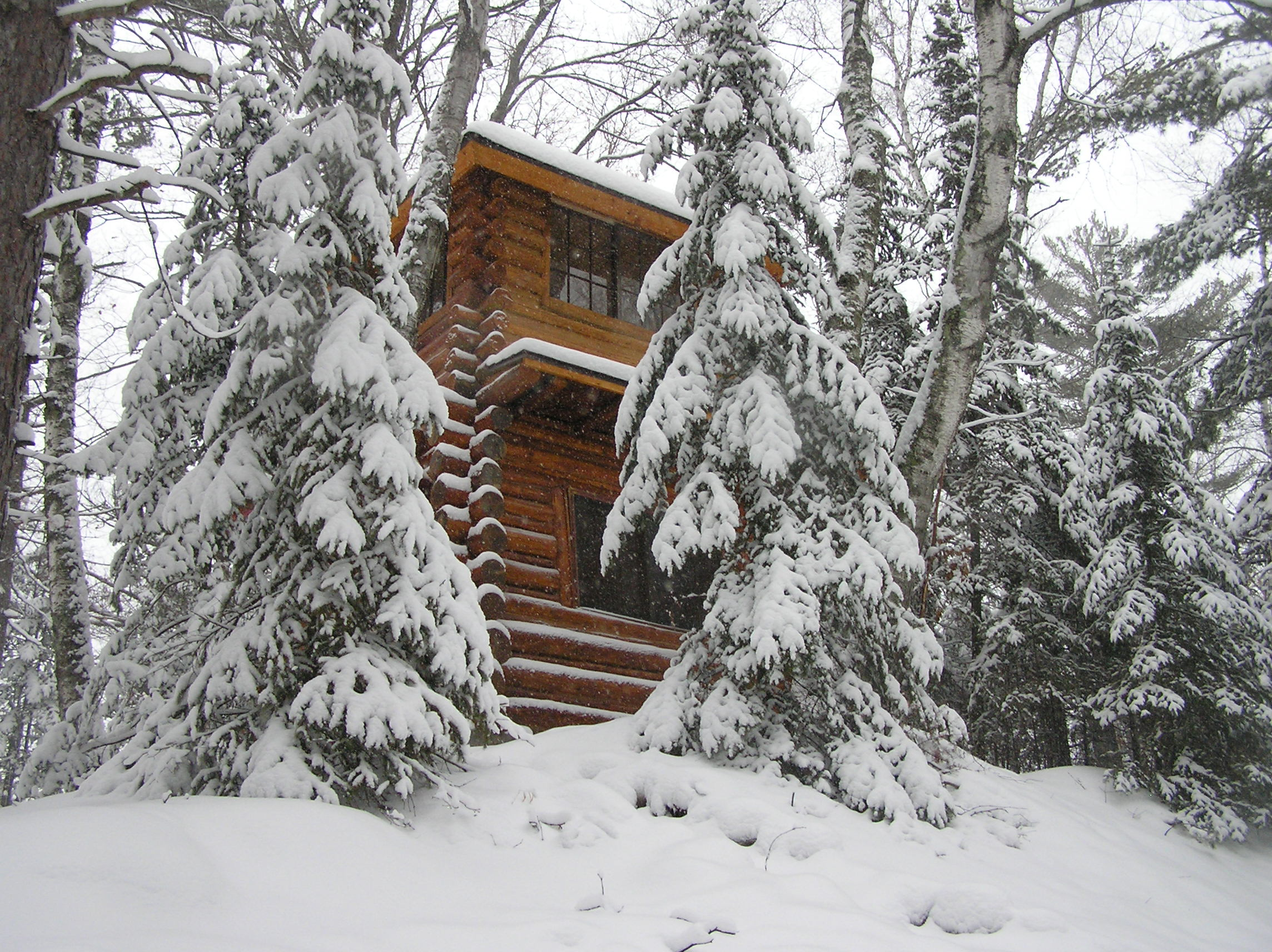 The Tower in the Winter
