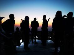 Sunrise at the Golden Summit