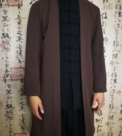 Open Outer Flared Jacket