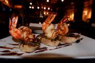 The Mantel Shrimp Bruschetta
