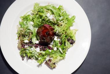 Red Wine Pear Salad
