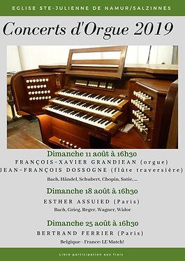 Concerts d'Orgue Eglise Ste-Julienne 201