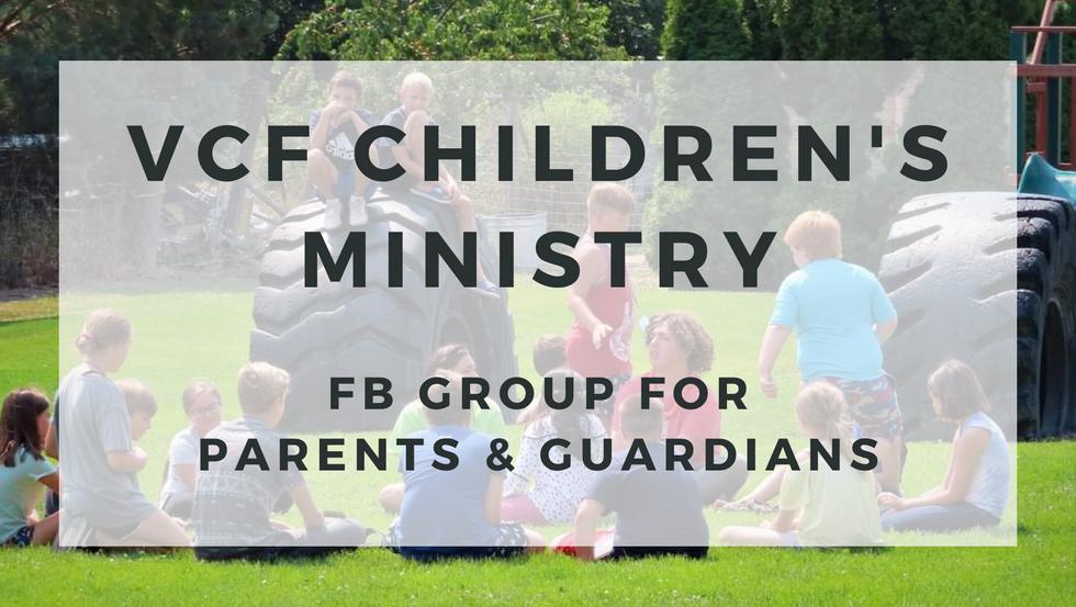 VCF Children's FB Page!