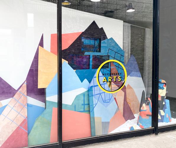 Gallery Window Display