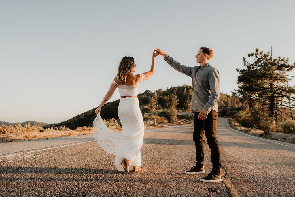 Popped Feature- Indie Angeles National Forest Engagement Shoot